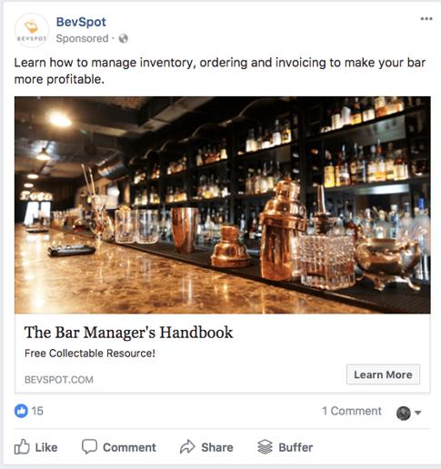 Foodservice Facebook Ads - TMC Digital Media