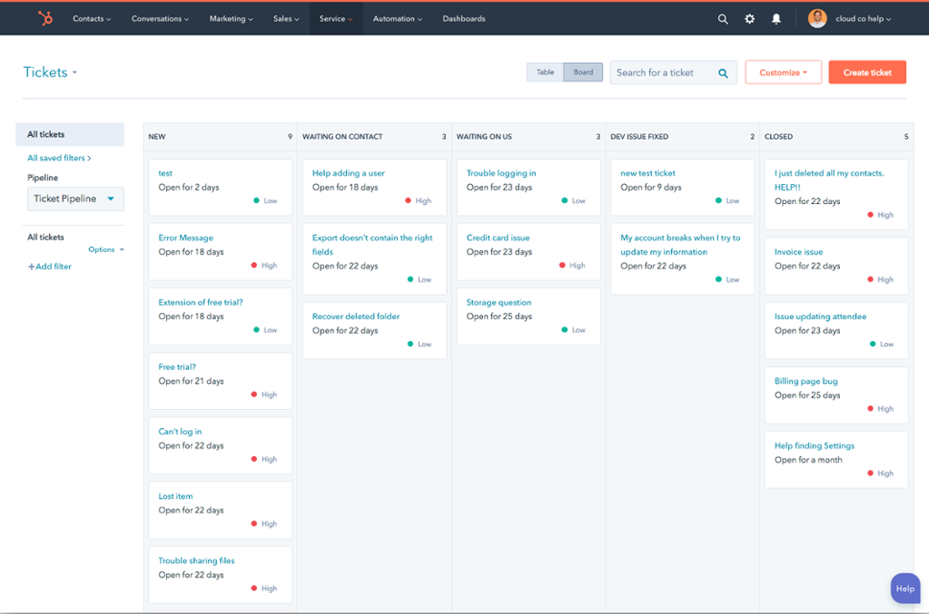 HubSpot Service Hub for Manufacturers and Reps