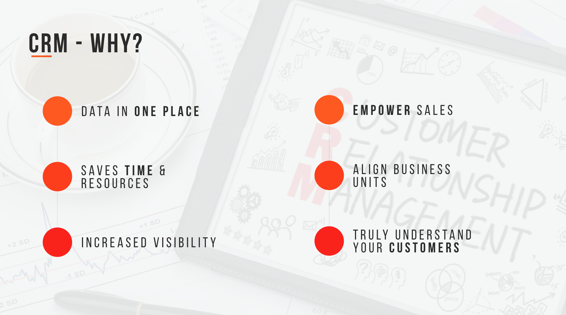 Why should your foodservice business use a CRM?